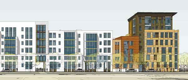 Izumrud-Emerald Kemerovo urban housing residential